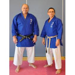 Kamikaze Jacke blau, Modell GOSHIN JUTSU