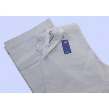 Pantalón Kamikaze blanco modelo GOSHIN JUTSU