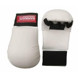 Luvas de proteção Kamikaze Shotokan brancas