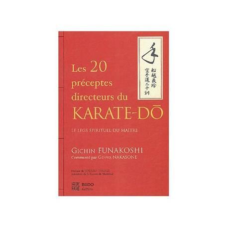 Livre Les vingt préceptes directeurs du karaté-dô