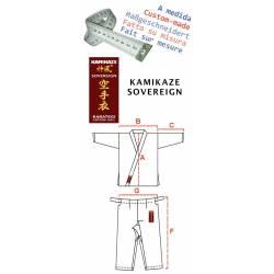 Karategui Kamikaze Sovereign feito à medida