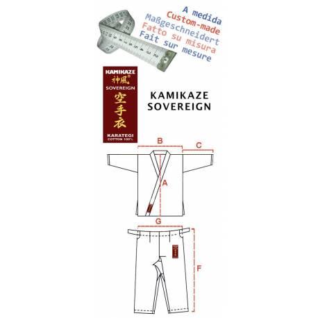 Kimono Kamikaze Sovereign - Fait sur-mesure