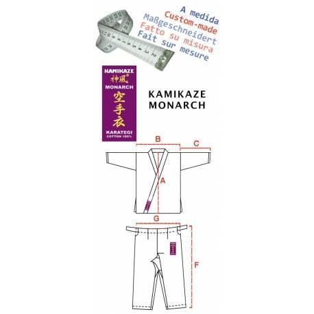 Kimono Kamikaze Monarch - Fait sur-mesure