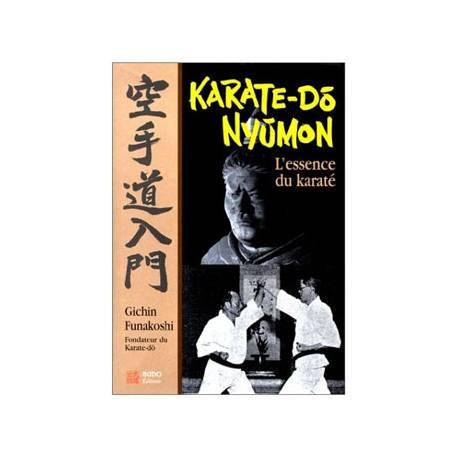 Livre Karaté-do nyumon