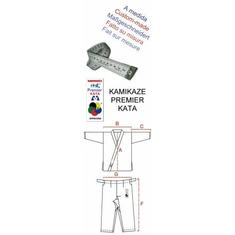 Kimono Kata WKF, Kamikaze