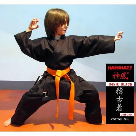 Chaqueta negra Kamikaze modelo Basic Black