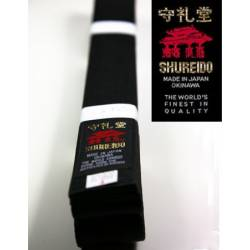 Cintura nera SHUREIDO in cottone