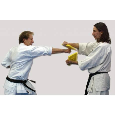 Tavola Reutilizzabile Da Rompere Colore Giallo Resistenza Media Bassa Kamikaze Karategi Online Shop
