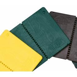 Planche à rompre et réutilisable, couleur: verte