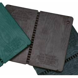 Tavola re-utilizzabile da rompere, colore marrone, resistenza alta