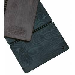 Placa de rompimentos reutilizável preta