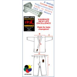 Karategi Kamikaze NEW LIFE EXCELLENCE - Fatto su misura