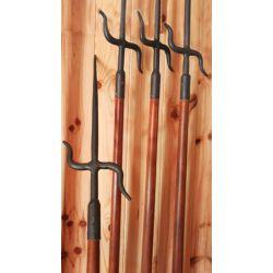 NUNTI BO KAMIKAZE, natural Sai, Bo de madeira de haya fusiforme