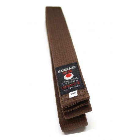 Cinturón Kamikaze marrón primera calidad