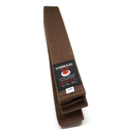 KAMIKAZE first class BROWN belt cotton
