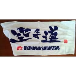 Small neck towel Shureido OKINAWA SHUREIDO KARA TE DO