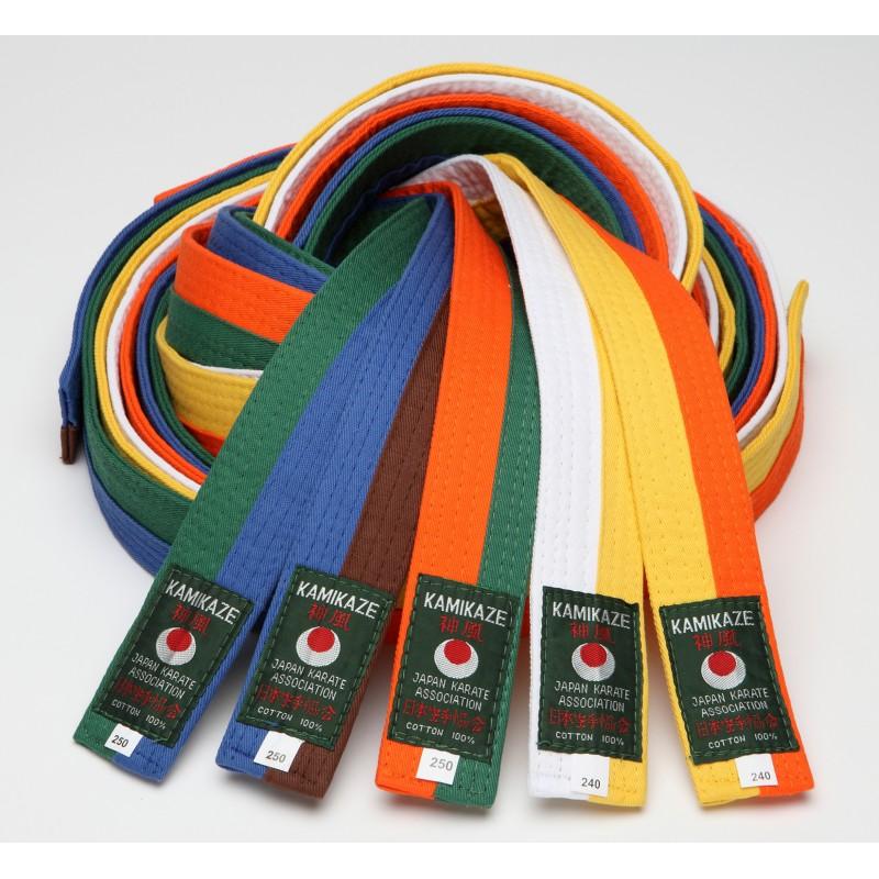 ceinture de couleur karaté piquée Kamikaze 618d24d898e