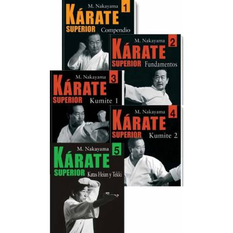 KARATE SUPERIOR M. NAKAYAMA, español Vol.2