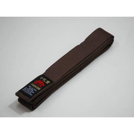 Cinturón marrón Shureido