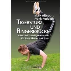 Livro Tigersturz und Ringerbrücke Effektive Trainingsmethoden, Albrecht & Rudolph, alemão