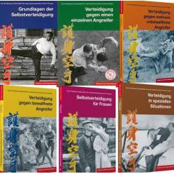 Book series KARATE IN DER PRAXIS, complete series 6 volumes, Masatoshi NAKAYAMA, German
