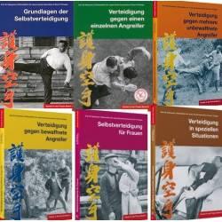 Livro KARATE IN DER PRAXIS, die komplette Serie Band 1 bis 6, Masatoshi NAKAYAMA, alemão