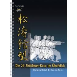 Libro Die 26 Shotokan-Kata im Überblick, Fiore Tartaglia, tedesco
