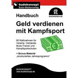 Livro GELD verdienen mit Kampfsport, Budokonzept, alemão