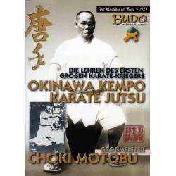 Libro OKINAWA KEMPO KARATE JUTSU, Choki MOTOBU, español