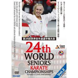 DVD 24 º CAMPIONATO del MONDO WKF 2018 MADRID, SPAGNA, VOL.2