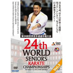 DVD 24 º CAMPIONATO del MONDO WKF 2018 MADRID, SPAGNA, VOL.3