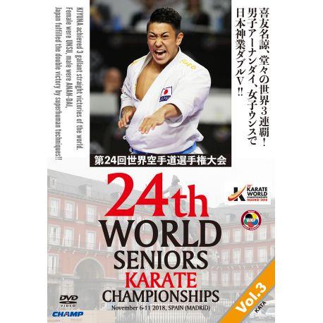 DVD 24º CAMPEONATO del MUNDO WKF 2018 MADRID, ESPAÑA, VOL.3