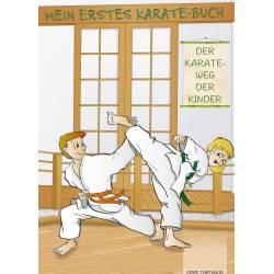 Livro Mein Erstes Karate-Buch, der Weg der Kinder, Fiore Tartaglia, alemão