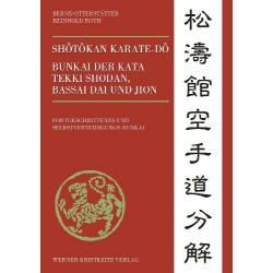 Livro Shotokan Kata Bunkai, Bernd Otterstätter / Reinhold Roth, Band 2, alemão