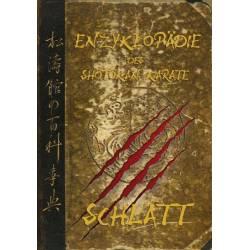 Livro ENZYKLOPÄDIE des Shôtôkan Karate, Schlatt, 4. Neuauflage, völlig überarbeitet, alemão