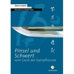 Livro Pinsel und Schwert, Dave Lowry, alemão