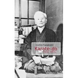 Livro Karate-dô Mein Weg, Funakoshi Gichin, alemão