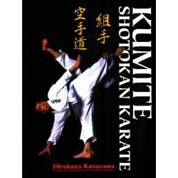 Libro KUMITE SHOTOKAN KARATE, Hirokazu KANAZAWA, Hardcover, alemán