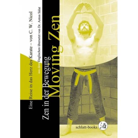 Livro Zen in der Bewegung - Moving Zen, C.W. Nicol, alemão