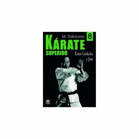 Serie de libros 'KARATE SUPERIOR', M. NAKAYAMA, Vol.8