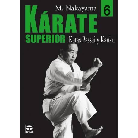 Libro KARATE SUPERIOR M. NAKAYAMA, español Vol.6