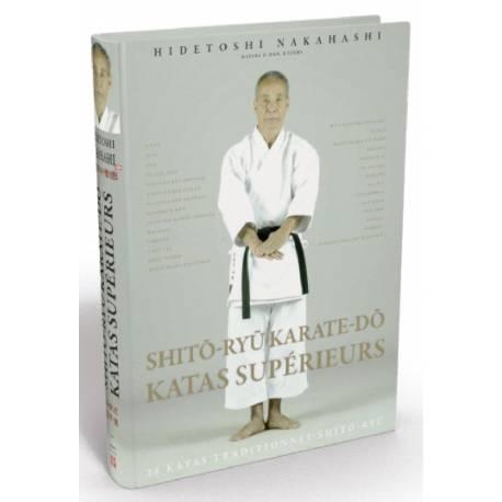 Livro SHITO-RYU KARATE-DO KATAS SUPÉRIEURS, Hidetoshi NAKAHASHI, francês