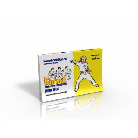 Karate en BD, ceinture blanche et jaune