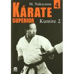 Libro KARATE SUPERIOR M. NAKAYAMA, español Vol.4