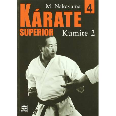 Serie de libros 'KARATE SUPERIOR', M. NAKAYAMA,  Vol.4