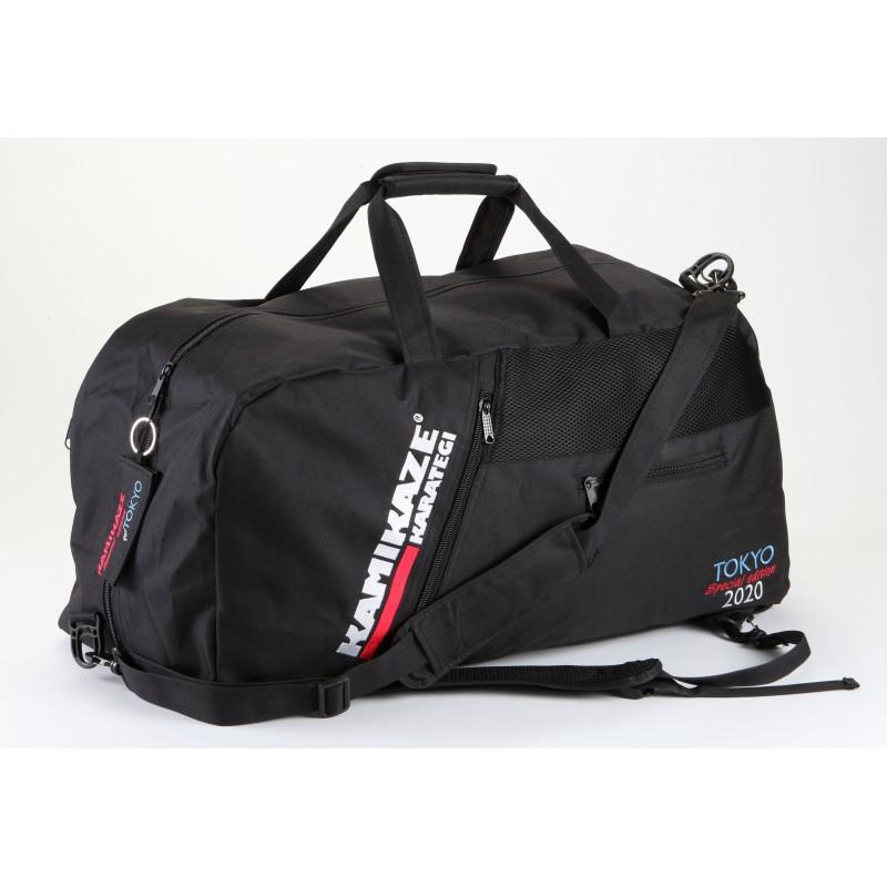 neue kamikaze sporttasche und rucksack tokyo special edition 2020 schwarz oder rot kamikaze. Black Bedroom Furniture Sets. Home Design Ideas