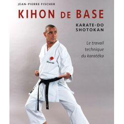 Livro KIHON de BASE Karate-Do Shotokan, Jean-Pierre FISCHER, francês
