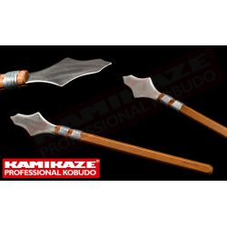 ROCHIN KAMIKAZE PROFESSIONAL KOBUDO, stainless steel and oak handle