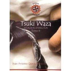 Libro TSUKI WAZA, tomo 2, Juan Antonio Quirós Martínez,