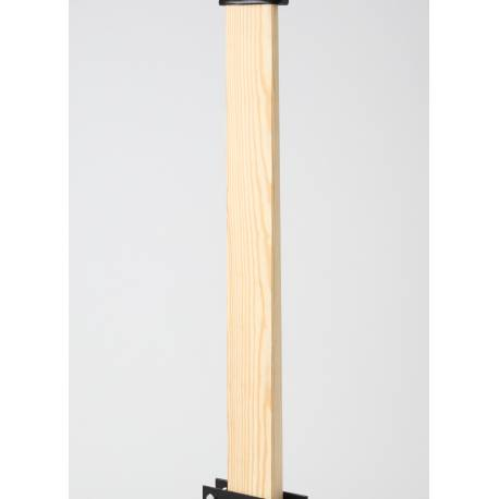 Sólo POSTE DE MADERA KAMIKAZE (130 x 9 cm) para Makiwara, pino melis (mobila)